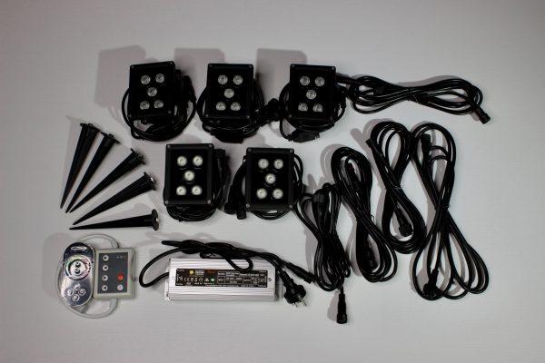 The complete garden lighting kit