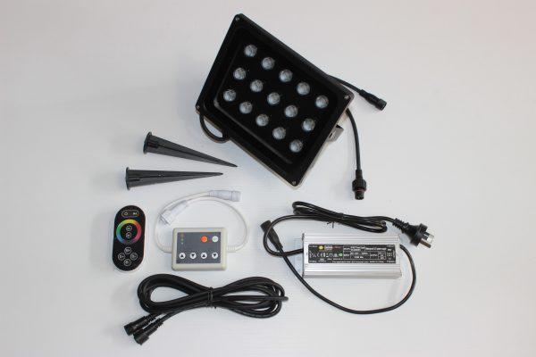 54 watt flood light kit