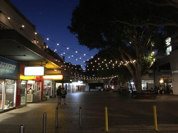 Festoon lighting project Sydney